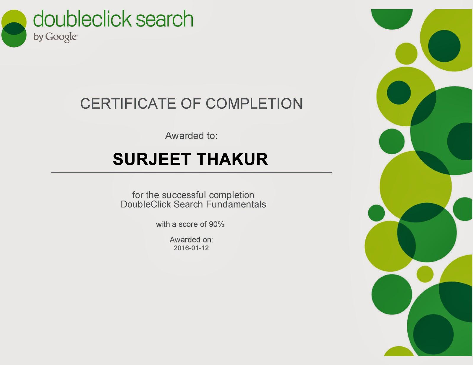 Chandigarh institute of internet marketing ciim doubleclick certificate xflitez Gallery